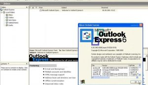 Cum sa deschizi link-uri in Outlook Express?